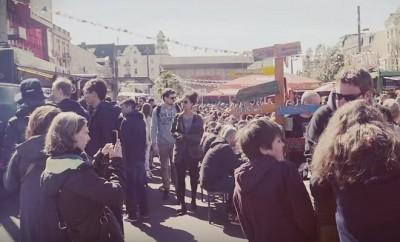 """Jeden Donnerstag findet in Hamburg auf St.Pauli die """"Street Food Session – St. Pauli Straßenmampf"""" statt."""