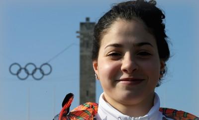 Yusra Mardini rettete ein Flüchtlingsboot und könnte nun bei den Olympschen Spielen antreten.