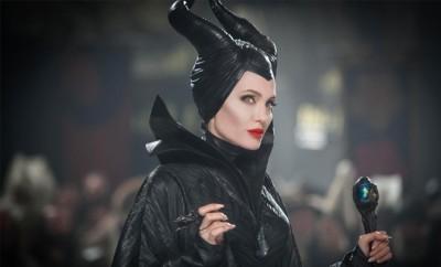 Auch in Maleficent 2 nimmt Angelina Jolie die Rolle der dunklen Fee ein.