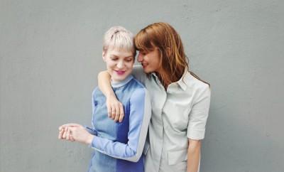 Gründerinnen der Kleiderei: Pola Fendel und Thekla Wilkening.