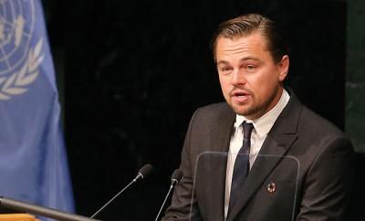 Leonardo DiCaprio hielt vor den Vereinten Nationen eine Rede über den Klimawandel.
