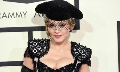 Madonna traf sich mit ihrem Sohn Rocco.