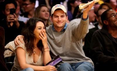 Mila Kunis und Ashton Kutcher verbringen Zeit beim Konzert von Beyonce.