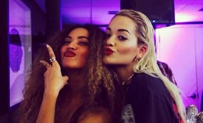 Beyonce und Rita Ora kuscheln bei der Met Gala gegen Fremdgeh-Gerüchte um Jay Z.