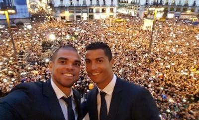 Cristiano Ronaldo hat mit Real Madrid erneut die Champions League gewonnen.