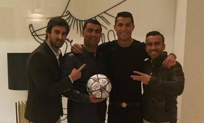 Cristiano Ronaldo hat momentan viel zu feiern.