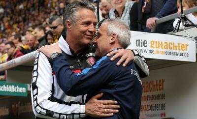 Uwe Neuhaus hat mit Dynamo Dresden am Wochenende die Meisterschaft in der 3. Bundesliga gewonnen.