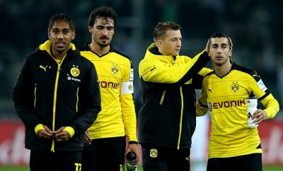 Mats Hummels und Henrikh Mkhitaryan stehen bei Borussia Dortmund vor dem Absprung.