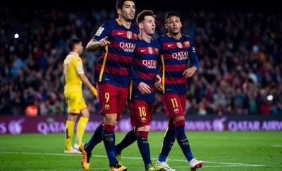 Lionel Messi, Suárez und Neymar bilden beim FC Barcelona eine perfekte Symbiose.