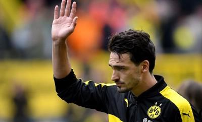 Mats Hummels verabschiedet sich von Borussia Dortmund.