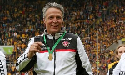 Dynamo Dresden spricht über den Aufstieg mit Dynamo Dresden.