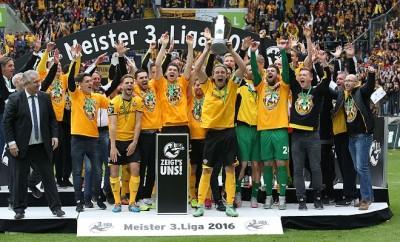 Dynamo Dresden hat am Wochenende die Meisterschaft gefeiert.