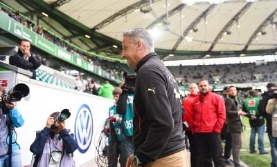 Cheftrainer Jürgen Kramny  wurde beim VfB Stuttgart abgelöst.