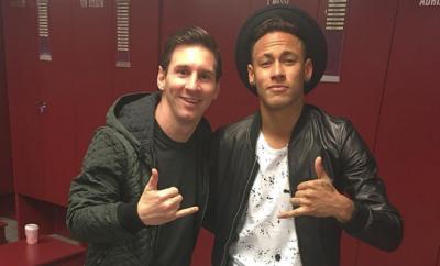 Lionel Messi und Neymar wollen am Wochenende mit dem FC Barcelona die Meisterschaft gewinnen.