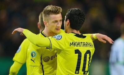 Henrikh Mkhitaryan und Marco Reus setzen den BVB unter Druck.