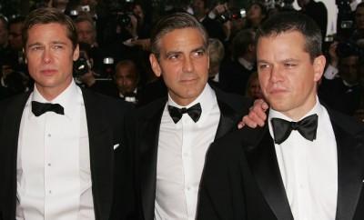Ben Affleck und Matt Damon dissen Brad Pitt und George Clooney.