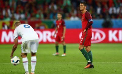 Cristiano Ronaldo steht nach dem Spiel von Portugal gegen Island in der Kritik.