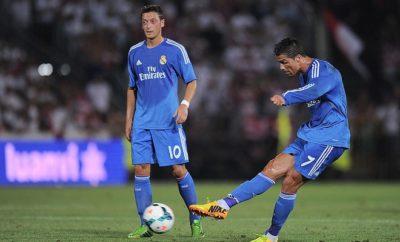Mesut Özil setzt sich für Cristiano Ronaldo ein.