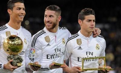 Cristiano Ronaldo und Sergio Ramos setzen sich für ihren Freund James Rodriguez ein.