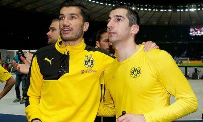 Henrikh Mkhitaryan darf Borussia Dortmund nicht verlassen.