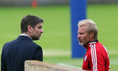 Arbeiten Thorsten Fink und Oliver Kreuzer nach ihrer erfolglosen Zusammenarbeit beim HSV bald gemeinsam für den TSV 1860 München?