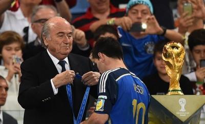 Lionel Messi hat noch immer an dem verlorenen WM-Finale gegen Deutschland zu knabbern.