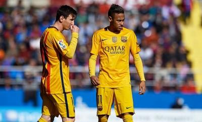 Lionel Messi und Neymar FC Barcelona