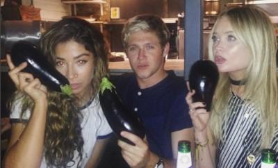One Direction: Niall Horan küsst Exfreundin Natalia Jorquera.