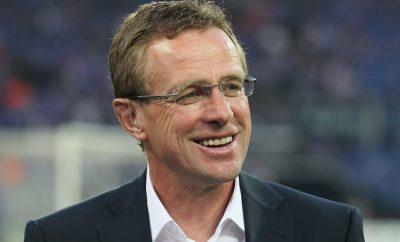 Ralf Rangnick hat zurzeit bei RB Leipzig allen Grund zur Freude.