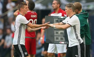 Verdrängt Toni Kroos Bastian Schweinsteiger in der Nationalmannschaft?