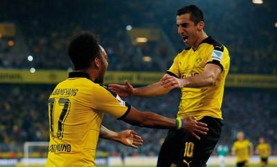 Die Engländer machen im Werben um die BVB-Stars Henrikh Mkhitaryan und Aubameyang ernst. Erhält Borussia Dortmund über 100 Millionen Euro?