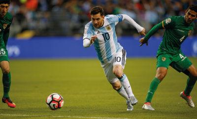 Lionel Messi blieb gegen Bolivien überwiegend Blass und ohne Treffer.