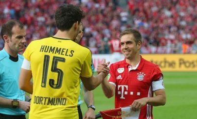 Philipp Lahm sieht im BVB trotz des Abganges einiger Leistungsträger weiterhin den Hauptkonkurrenten.