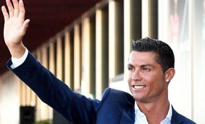 Cristiano Ronaldo freut sich über den Wechsel von Borja Mayoral zum VfL Wolfsburg.