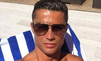 Während sich Real Madrid bereits auf die neue Saison vorbereitet, weilt Cristiano Ronaldo noch im Urlaub.