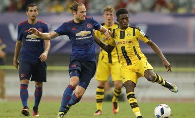 BVB-Neuzugang Ousmane Dembélé drehte im Spiel zwischen Borussia Dortmund und Manchester United groß auf.