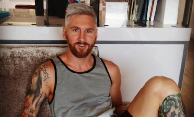Lionel Messi schockte seine Fans vor einigen Wochen mit seinen blonden Haaren.