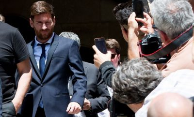 Lionel Messi hatte in den letzten Wochen sehr viele Probleme.