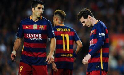 Trennen sich beim FC Barcelona die Wege von Lionel Messi und Luis Suarez?