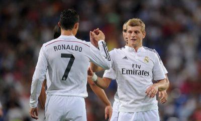 Toni Kroos nimmt Cristiano Ronaldo in Schutz.