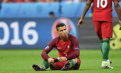 Nach einem harten Einsteigen von Dimitri Payet fällt Cristiano Ronaldo drei bis vier Wochen aus und verpasst somit wohl den Saisonauftakt bei Real Madrid.