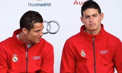 Spielt Cristiano Ronaldo bald ohne James Rodriguez bei Real Madrid?