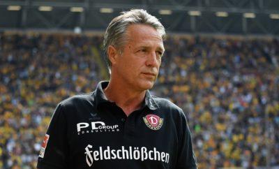 Auf Uwe Neuhaus sind vor dem Spiel gegen Union Berlin alle Augen gerichtet.
