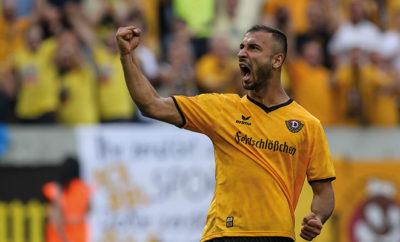 Hauptmann hat bei Dynamo Dresden verlängert und auch Gogia soll gebunden werden.