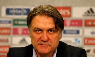 Wechselt Dietmar Beiersdorfer heute beim HSV den Trainer.