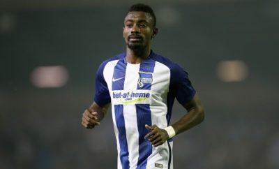Salomon Kalou wird Hertha BSC vorerst nicht zur Verfügung stehen.