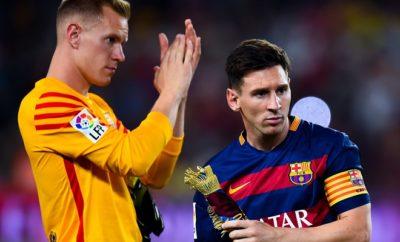 Marc-Andre Ter Stegen und Lionel Messi haben derzeit Grund zur Freude.