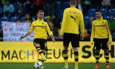 Droht Mario Götze im Spiel gegen den FC Bayern München ein Platz auf der Bank?