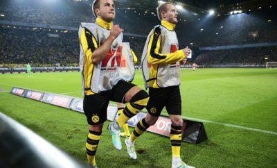 Mario Götze musste im Supercup zwischen Borussia Dortmund und dem FC Bayern München 90 Minuten auf der Bank Platz nehmen.
