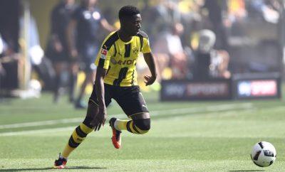 Ousmane Dembele wird bei Borussia Dortmund gelobt.